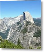 Half Dome From Inspiration Point Metal Print