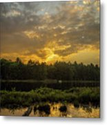 Haliburton Sunrise Metal Print