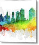 Halifax Skyline Mmr-canshx05 Metal Print