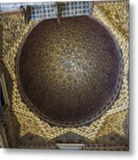 Hall Of Ambassadors - Alcazar Of Seville - Seville Spain Metal Print