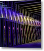 Hall Of Lights Metal Print