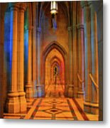 Hall Of The Cathedral Metal Print