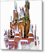 Hall Of The Snow King  Metal Print