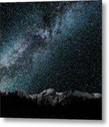 Hallet Peak - Milky Way Metal Print