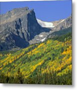 310221-hallett Peak In Autumn  Metal Print