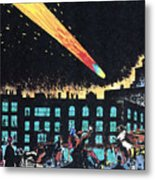 Halleys Comet, 1910 Metal Print