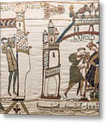 Halleys Comet Of 1066, Bayeux Tapestry Metal Print