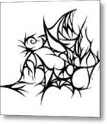 Hallow Web Metal Print