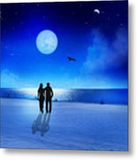 Night Blessings Metal Print