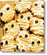 Halloween Baking Treats Metal Print
