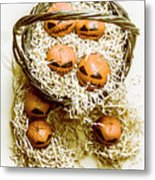 Halloween Food Decoration Metal Print