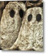 Halloween Ghosts Boo Metal Print