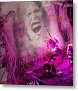 Halloween Landscape Metal Print