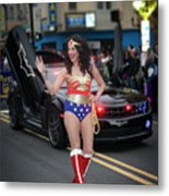 Halloween Parade In Newark's Ironbound Metal Print