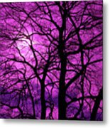 Halloween Trees No 3 By Dm Carpenter Metal Print