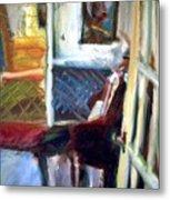 Hallways And Doorways Metal Print