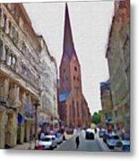 Hamburg Memories Metal Print