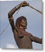 Hamer Tribe Woman, Ethiopia  Metal Print