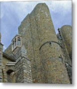 Hammond Castle Detail - Gloucester Ma Metal Print