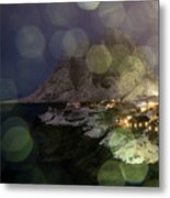 Hamnoy During A Storm Metal Print