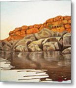 Hampi On Tungabadra Metal Print