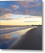 Hampton Sunrise Metal Print
