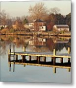 Hampton Virginia Sunrise Metal Print