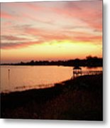 Hampton Virginia Sunset Metal Print