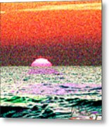Hamriyah Sunset 2010 Metal Print
