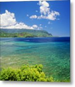 Hanalei Bay And Bali Hai Metal Print