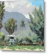 Hanalei Tower Metal Print