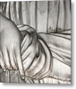 Hand And Robe Metal Print