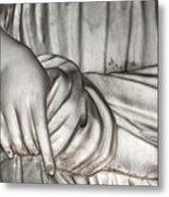 Hand And Robe Metal Print