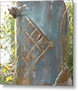 Hand Built Vessel- Wine Cooler Metal Print by Christine Belt