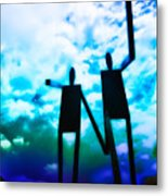 Hand In Hand Metal Print by Bill Cannon