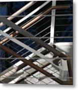 Hand Rails Metal Print