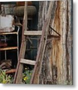 Hand Truck Of The Past Metal Print