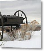 Handcart Monument Metal Print