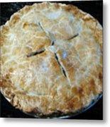Handcrafted Apple Pie Metal Print