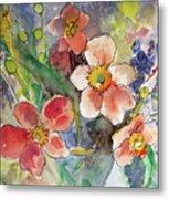 Handpicked Bouquet No. 2 Metal Print
