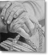 Hands Of The Master Metal Print