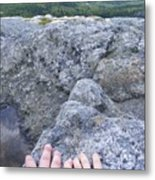 Hands On The Mountaintop Metal Print