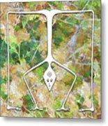 Handstand Metal Print