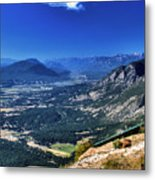 Hang Gliders Point Of View Metal Print