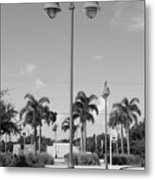 Hanging Lamps Metal Print