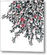 Hanging Leaves IIi Metal Print