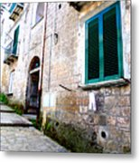 Hanging Out In Sorrento Metal Print