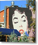 Hanging Out With Elizabeth Taylor Metal Print