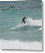 Hanging Ten Metal Print