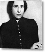 Hannah Arendt (1906-1975) Metal Print